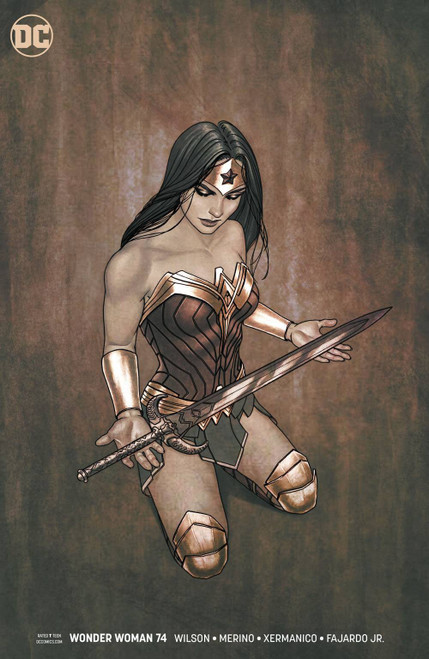 DC Wonder Woman #74 Comic Book [Jenny Frison Variant Cover]