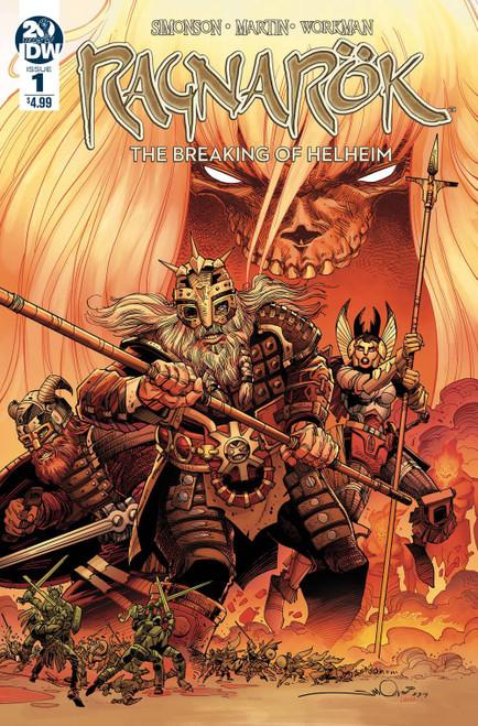 IDW Ragnarok Breaking Of Helheim #1 of 6 Comic Book