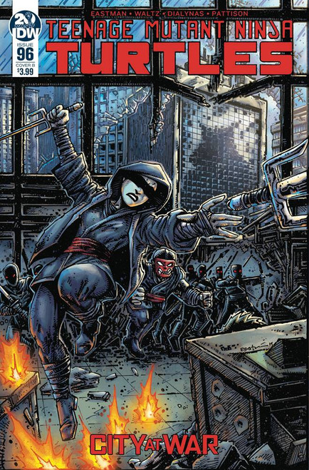 IDW Teenage Mutant Ninja Turtles Ongoing #96 Comic Book [Kevin Eastman Variant Cover]
