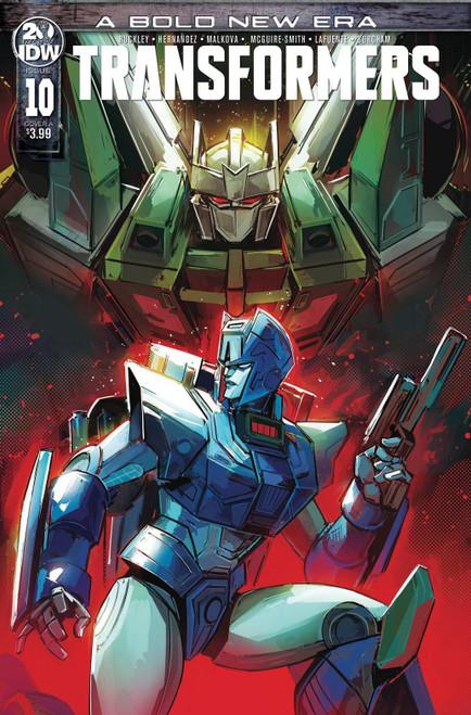 IDW Transformers #10 Comic Book