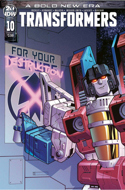 IDW Transformers #10 Comic Book [Bethany McGuire-Smith Variant Cover]