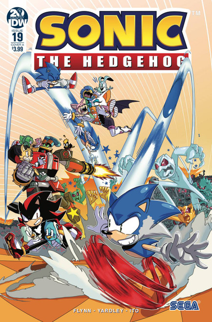 IDW Sonic The Hedgehog #19 Comic Book