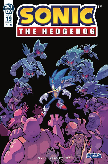 IDW Sonic The Hedgehog #19 Comic Book [Lamar Wells, Reggie Graham Variant Cover]