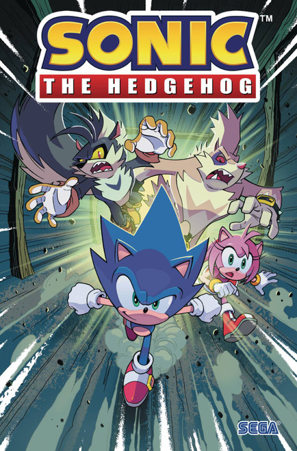 IDW Sonic The Hedgehog Infection Trade Paperback Comic Book Volume 4