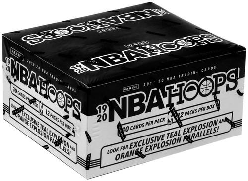 NBA Panini 2019-20 Hoops Basketball Trading Card VALUE Box [12 Packs]