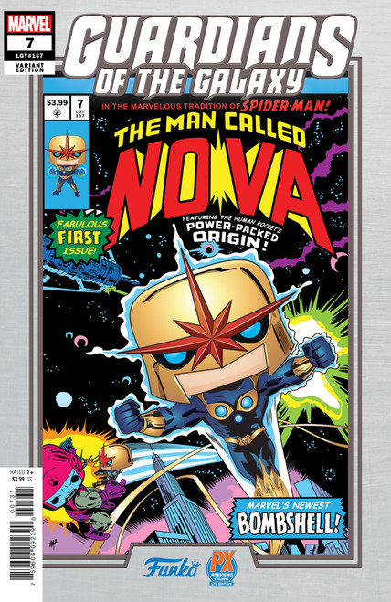 Marvel Comics POP! Marvel #7 The Man Called Nova Exclusive Comic Book [Mike Martin Funko Variant Cover]