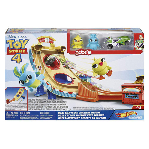 Disney / Pixar Toy Story 4 MINIS Buzz Lightyear Carnival Rescue Playset