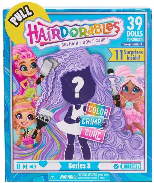 Hairdorables Series 3 Doll Mystery Pack [11 Surprises Inside!]