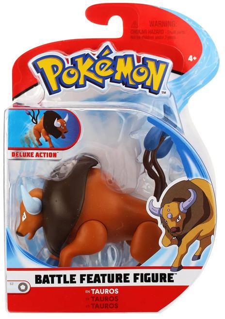 Pokemon Battle Feature Tauros Action Figure