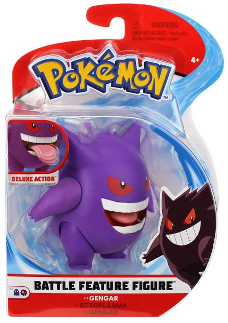 Pokemon Battle Feature Gengar Action Figure