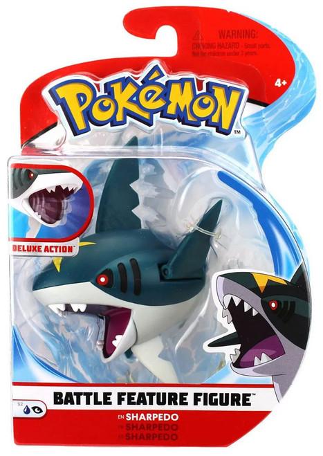 Pokemon Battle Feature Sharpedo Action Figure