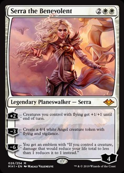 MtG Modern Horizons Mythic Rare Serra the Benevolent #26