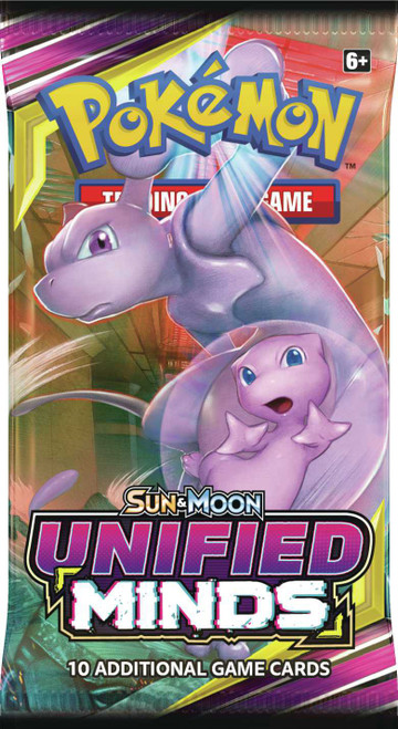 Pokemon Trading Card Game Sun & Moon Unified Minds Booster Pack [10 Cards]