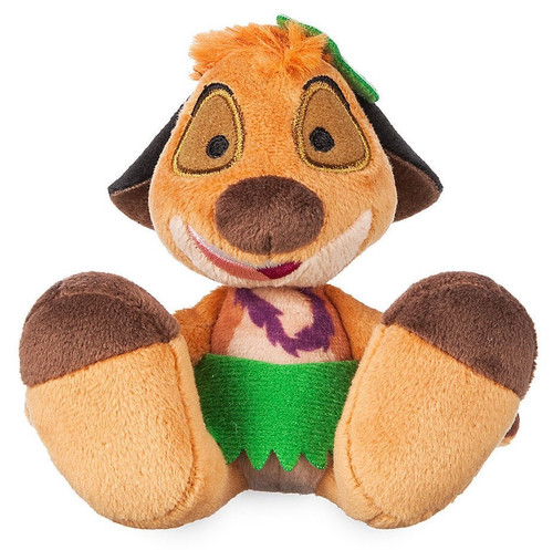 Disney The Lion King Tiny Big Feet Timon Exclusive 3.75-Inch Micro Plush [Grass Skirt]