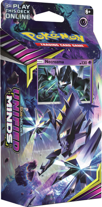Pokemon Trading Card Game Sun & Moon Unified Minds Laser Focus Theme Deck [Necrozma]