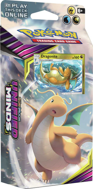 Pokemon Trading Card Game Sun & Moon Unified Minds Soaring Storm Theme Deck [Dragonite]