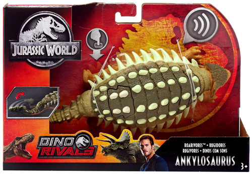 Jurassic World Fallen Kingdom Dino Rivals Ankylosaurus Action Figure [Roarivores]