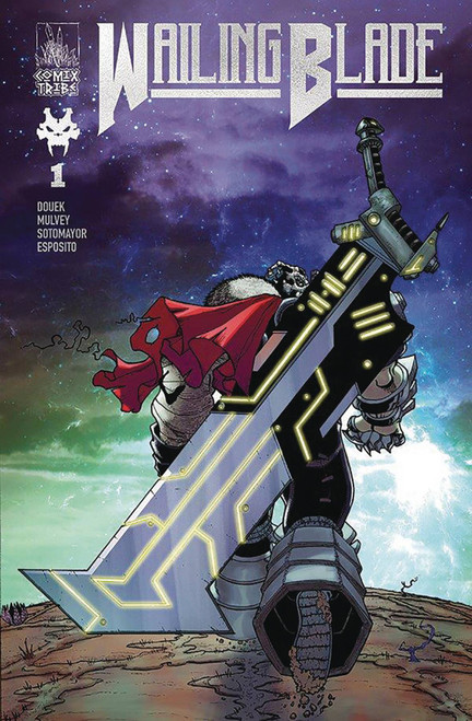 Comictribe Wailing Blade #1 Comic Book