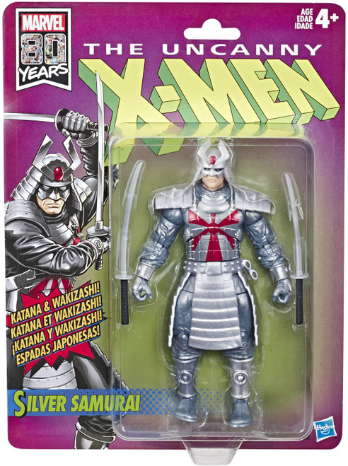 The Uncanny X-Men Marvel Legends Vintage (Retro) Series Silver Samurai Action Figure