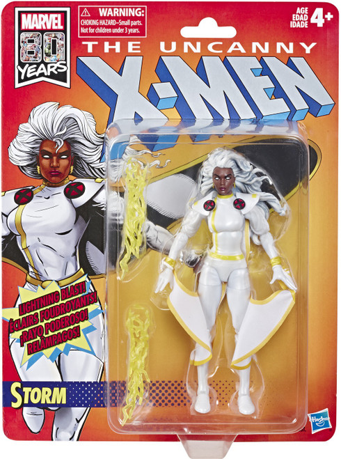 The Uncanny X-Men Marvel Legends Vintage (Retro) Series Storm Action Figure [White Jim Lee Costume]