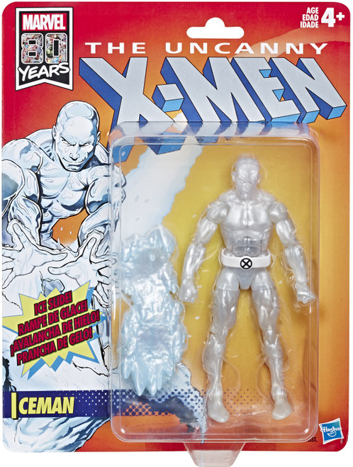 The Uncanny X-Men Marvel Legends Vintage (Retro) Series Iceman Action Figure