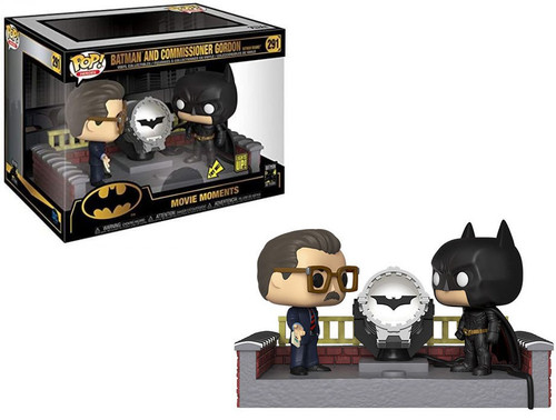 Funko DC Batman 80th Anniversary POP! Heroes Batman & James Gordon Deluxe Vinyl Figure [Movie Moments]
