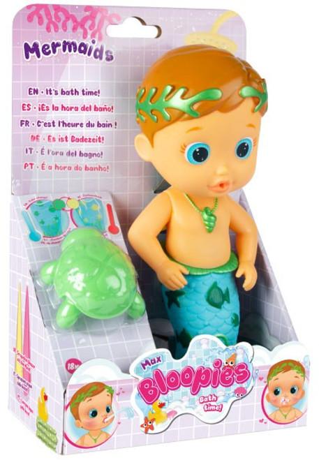 Bloopies Mermaids Max Bath Doll