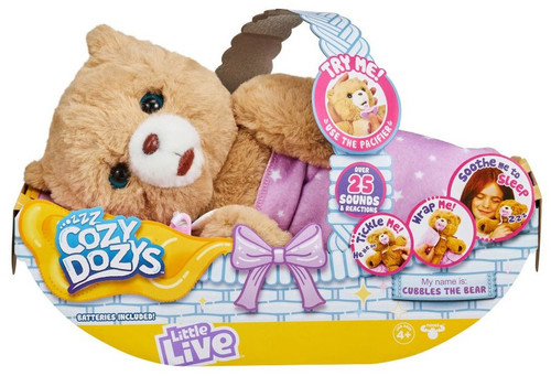 Little Live Pets Cozy Dozy Cubbles the Bear Electronic Pet