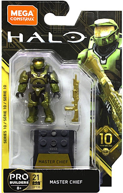 Halo Heroes Series 10 Master Chief Mini Figure