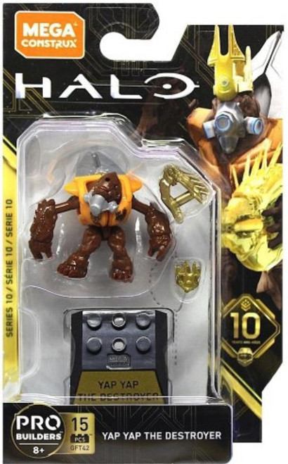Halo Heroes Series 10 Yap Yap the Destroyer Mini Figure