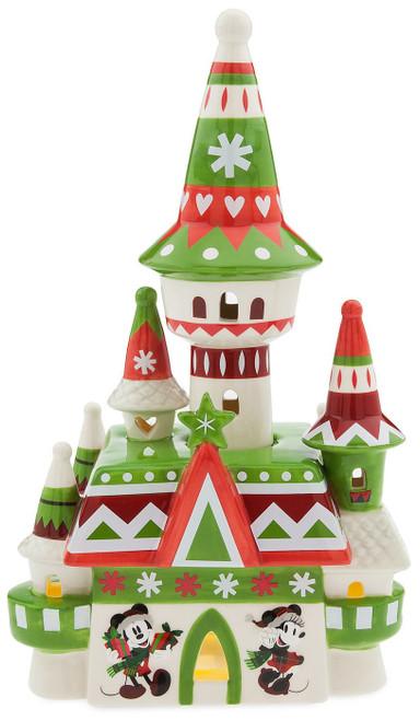 Disney Fantasyland Castle Nordic Winter Light-Up Exclusive Figurine
