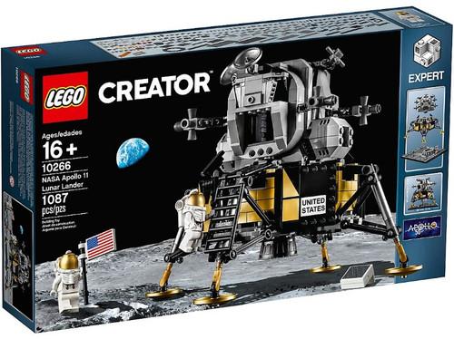 LEGO Creator NASA Apollo 11 Lunar Lander Set #10266