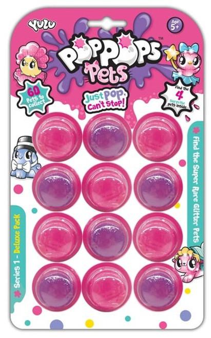 Pop Pops Pets 12-Pack [Pink]