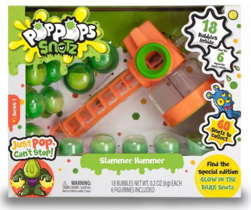Pop Pops Snotz Slammer Hammer Playset [Green]
