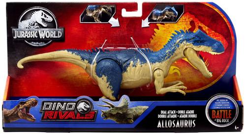 Jurassic World Fallen Kingdom Dino Rivals Allosaurus Action Figure [Dual Attack]