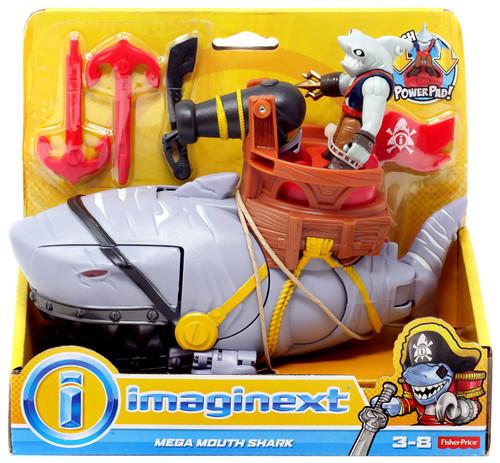 Fisher Price Imaginext Mega Mouth Shark Figure Set