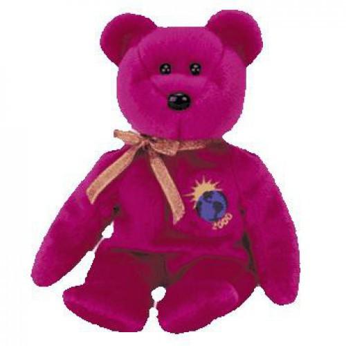 Beanie Babies Millennium the Bear Beanie Baby Plush