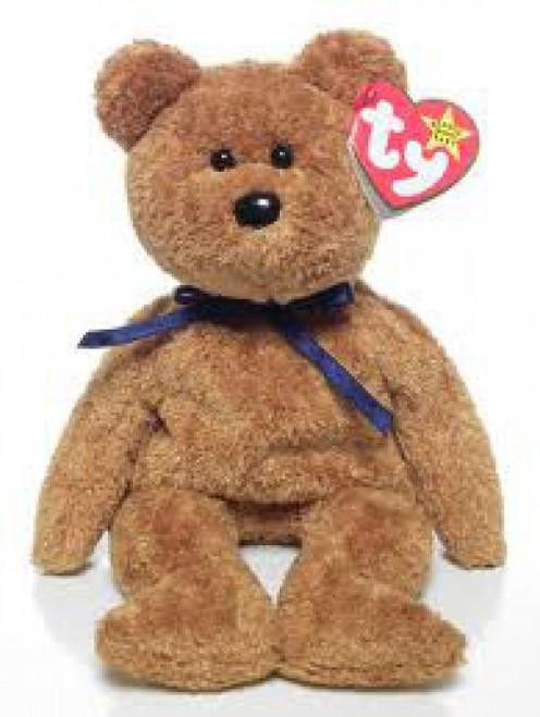 Beanie Babies Fuzz the Bear Beanie Baby Plush