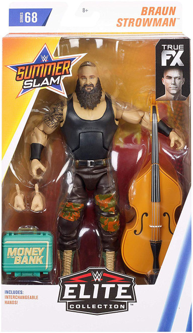 WWE Wrestling Elite Collection Series 68 Braun Strowman Action Figure