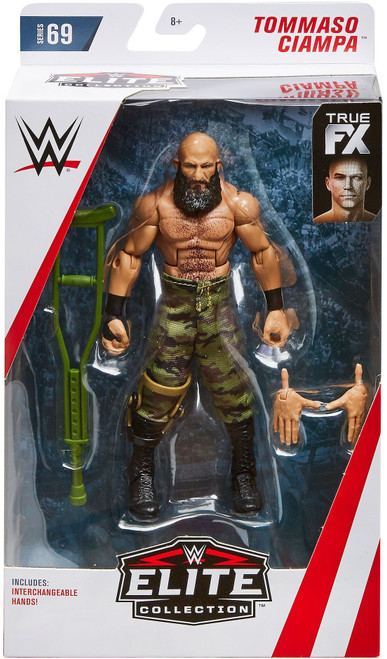 WWE Wrestling Elite Collection Series 69 Tommaso Ciampa Action Figure