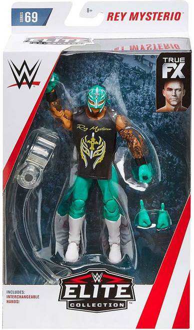 WWE Wrestling Elite Collection Series 69 Rey Mysterio Action Figure
