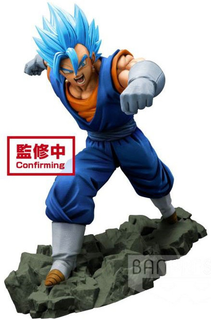 Dragon Ball Super Dragon Ball Z: Dokkan Battle Super Saiyan Blue Vegetto 6.3-Inch Collectible PVC Figure