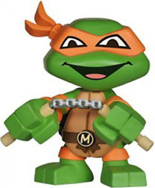 Funko Teenage Mutant Ninja Turtles Mystery Minis Michelangelo 2-Inch Mystery Minifigure [Loose]