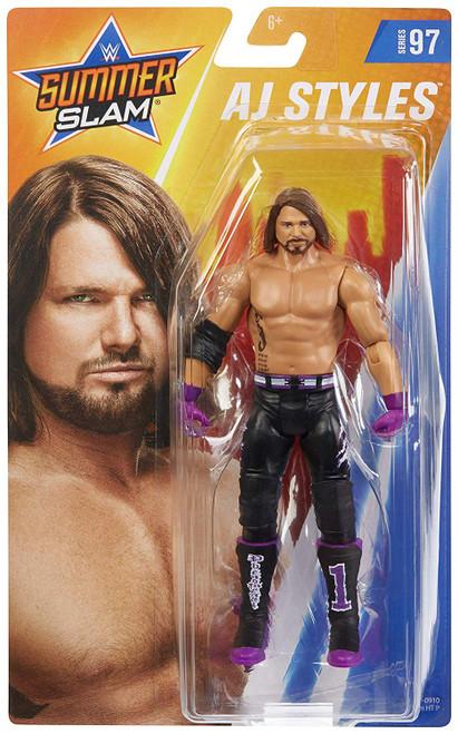 WWE Wrestling Series 97 AJ Styles Action Figure