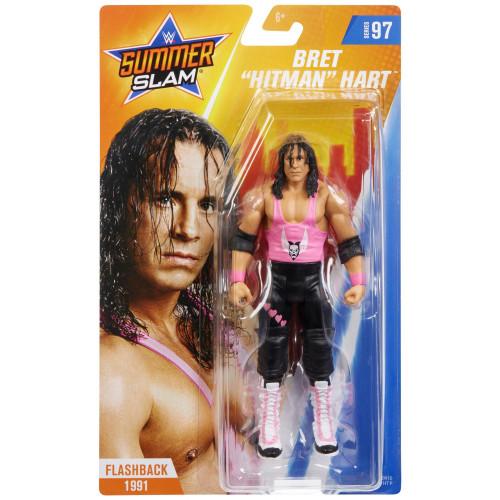 WWE Wrestling Series 97 Bret Hart Action Figure