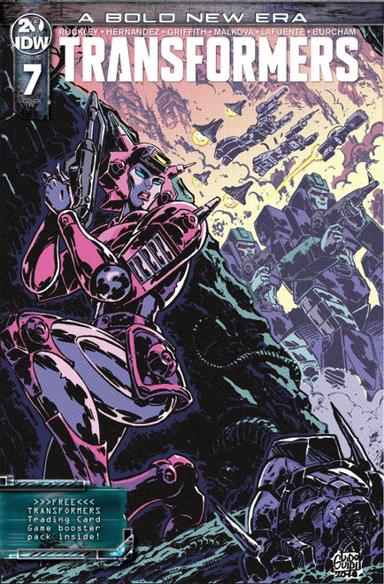 IDW Transformers #7 Comic Book [Guido Guidi Variant Cover]