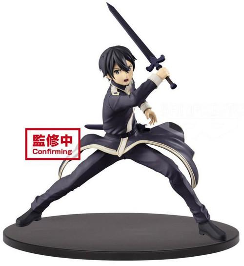 Sword Art Online: Alicization EXQ Figure Collection Kirito 5.9-Inch Collectible PVC Figure [Alicization]