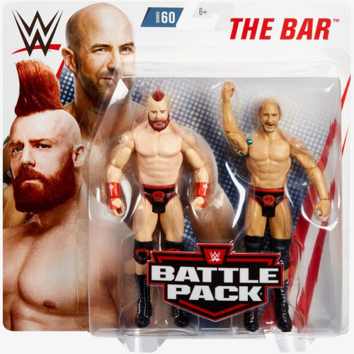WWE Wrestling Battle Pack Series 60 Sheamus & Cesaro Action Figure 2-Pack [The Bar]