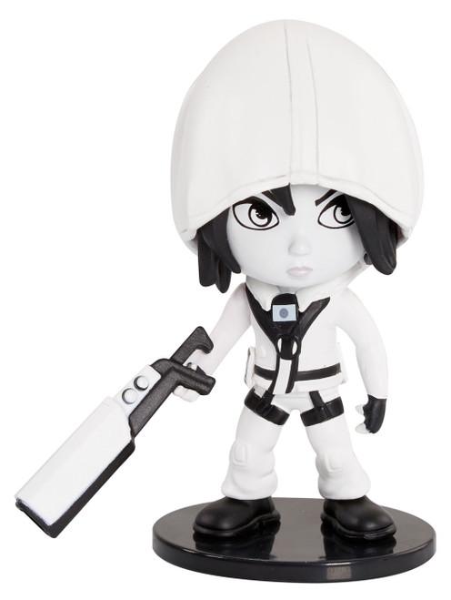 Rainbow Six Siege Black & White Series Hibana Exclusive Deluxe Figure