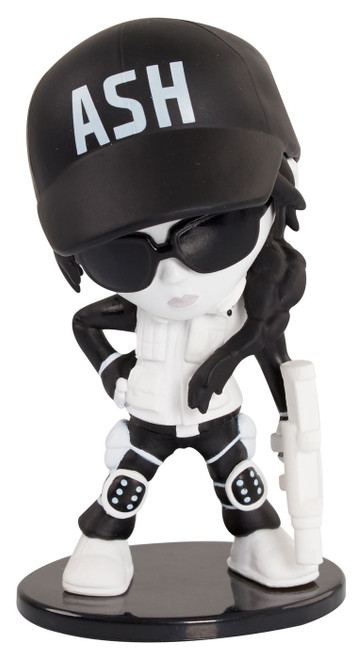 Rainbow Six Siege Black & White Series Ash Exclusive Deluxe Figure